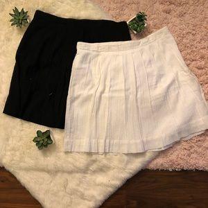 2 Loft skirts